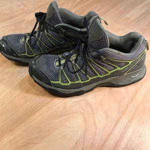 Salomon Men's Sz 8 X Ultra Prime Grey Hiking Shoes